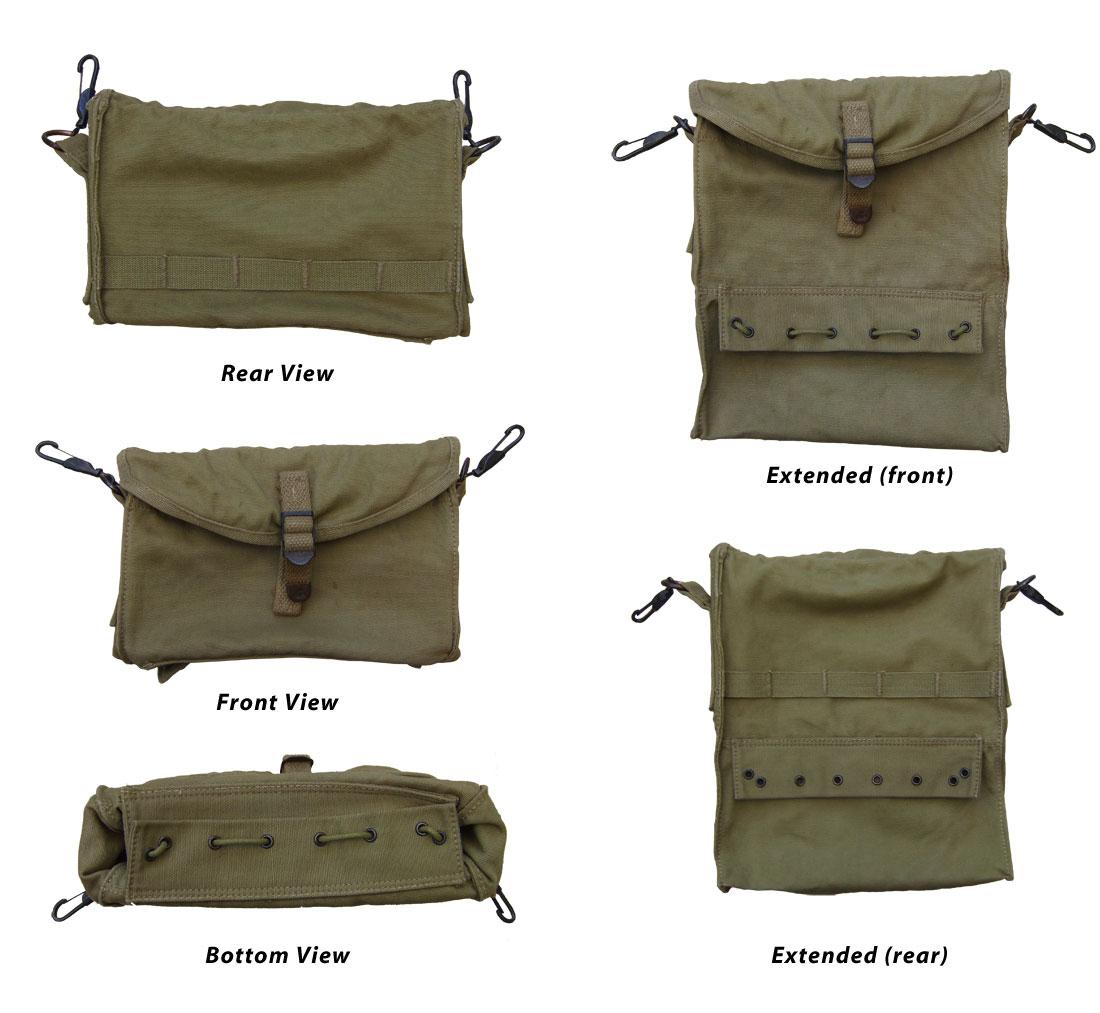 EQUIPO INDIVIDUAL DEL DEPARTAMENTO MEDICO US WW2 Bags
