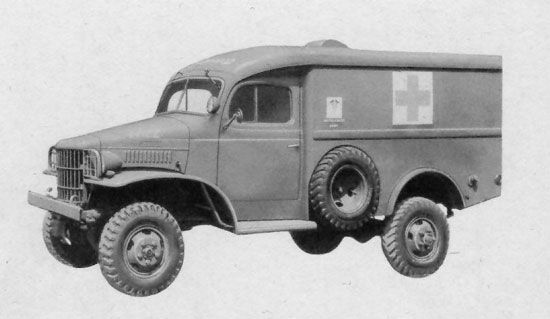Ww2 Us Army Ambulances And Medical Related Vehicles Ww2