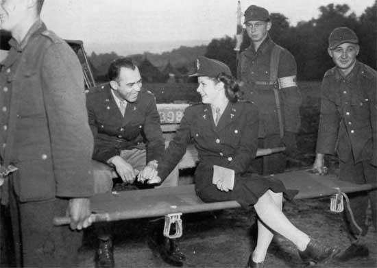 The Army Nurse Corps WW2 US Medical Research Centre