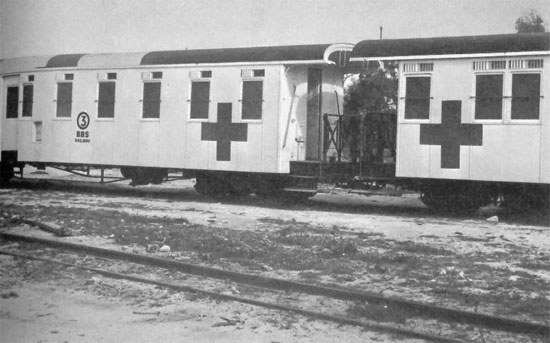 WW2 Hospital Trains | WW2 US Medical Research Centre