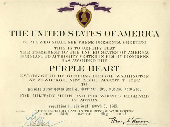 purple heart citation template meritorious service medal images of msm