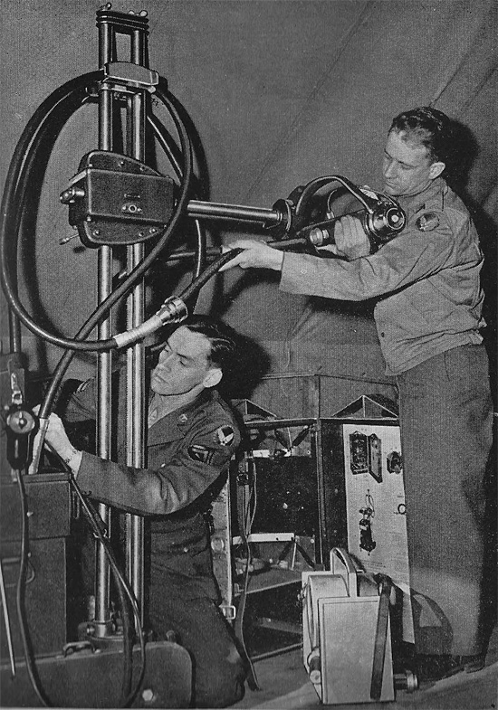 Us Army X Ray Field Unit Ww2 Us Medical Research Centre