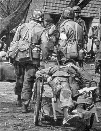 medic jeep with 224th Airborne Medical  Pany on Marquages Pochoirs likewise Ww2 46 also 224th Airborne Medical  pany besides Achtung The Eagle Landed Despite Second World War Enactment Threat Ban Nazi Uniforms moreover Men On The Mountain Play Waiting Game With Charlie 1.