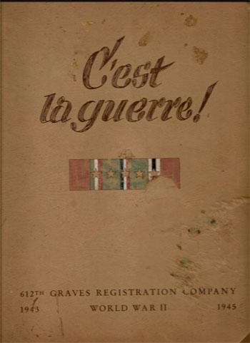 612th Quartermaster Graves Registration Company Ww2 Us