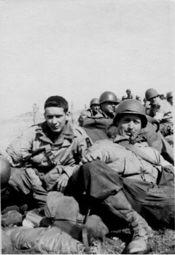 Personnel Of The 91st Prepare For Bivouac In Normandy Photograph Taken On 10 June 1944