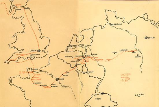 Th Evacuation Hospital WW US Medical Research Centre - Us map ww2
