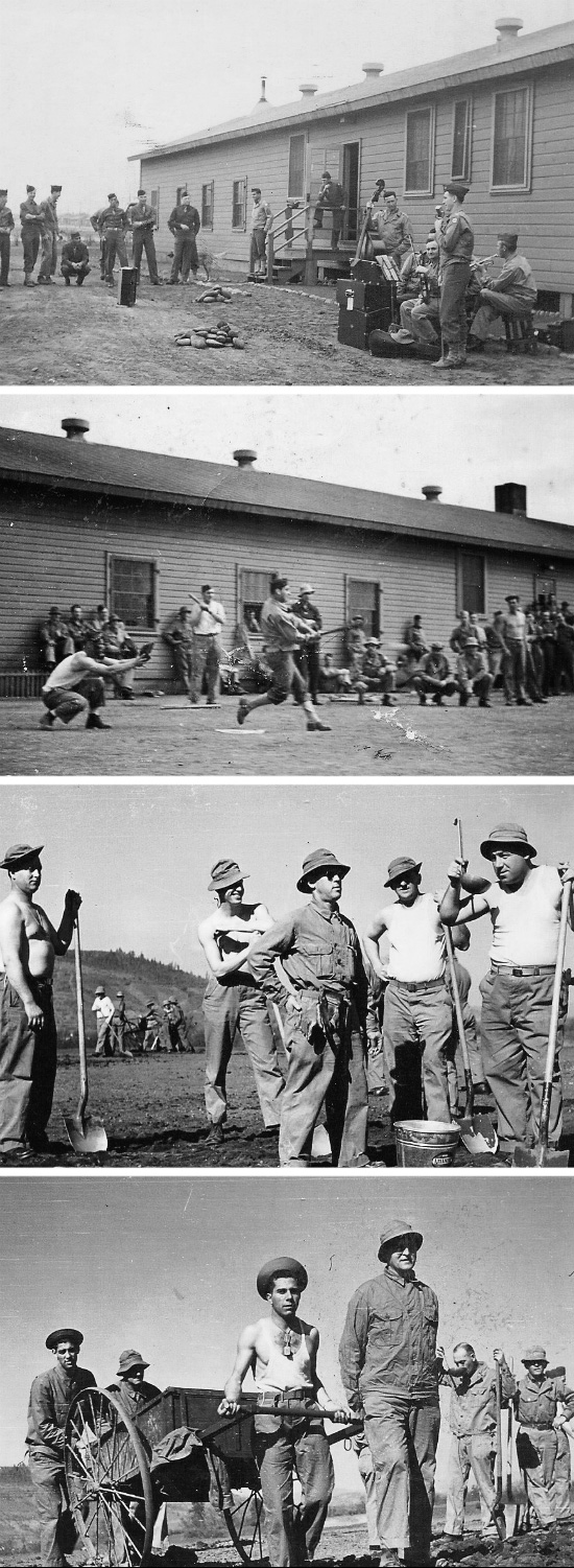 General view of 82d General Hospital personnel in action. There was time for recreation and work details. All illustrations taken while the unit was stationed at Camp White, Medford, Oregon.