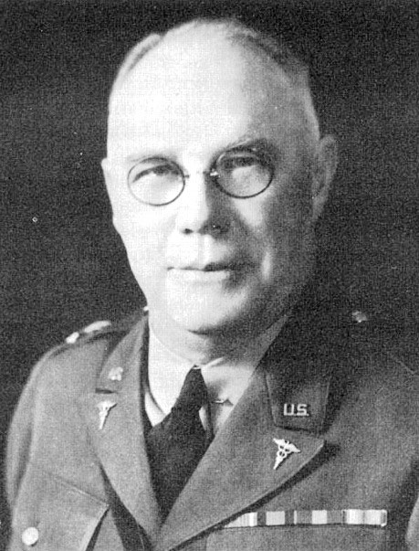 Portrait of Major General James C. Magee, US Army Surgeon General, 1939-1943.