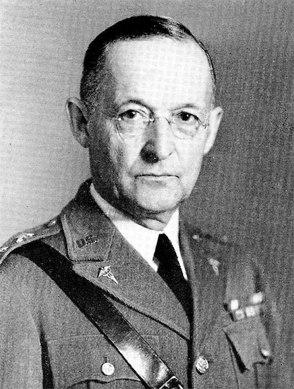 Portrait of The Surgeon General, Major General Charles R. Reynolds (1877-1961), MC. This General Officer was appointed by the US President, with the advice and consent of the Senate, for a 4-year term, and served as Surgeon General from June 1, 1935 to May 31, 1939.